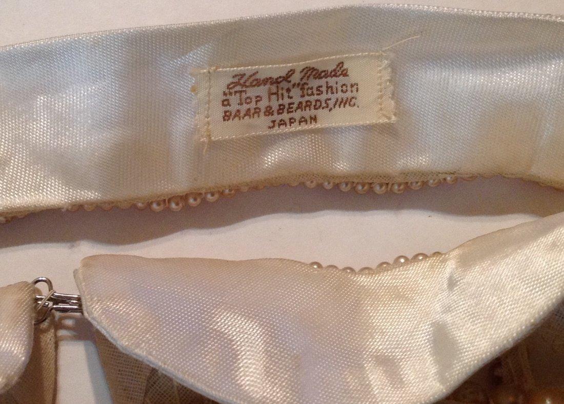 Estate vintage lot of pearl collars (R) - 4