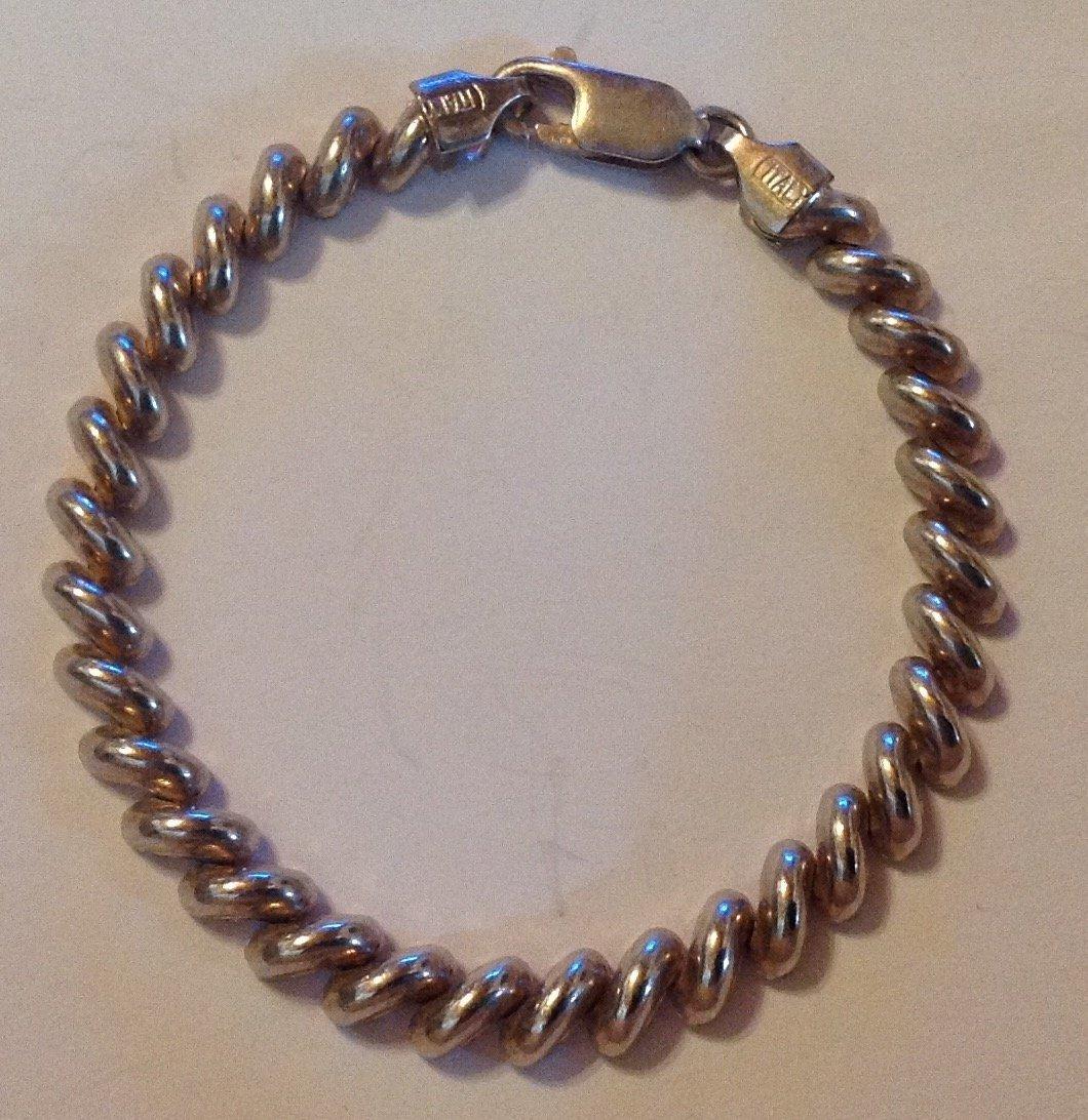 Estate Sterling silver San Marco Italy bracelet