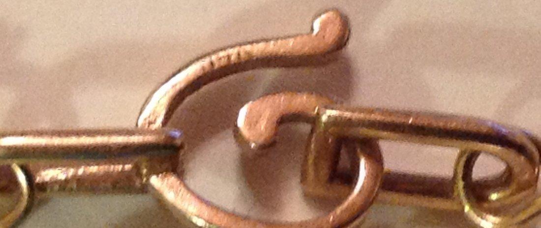 Elegant 14k gold turquoise pearl 3 strand necklace - 4