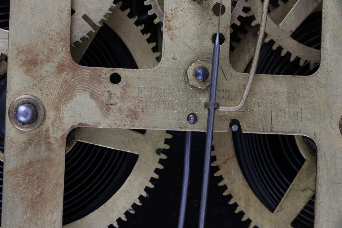 """Ingraham """"Itasca"""" Hanging Gingerbread Wall Clock - 7"""