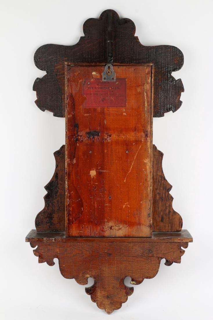"""Ingraham """"Itasca"""" Hanging Gingerbread Wall Clock - 9"""