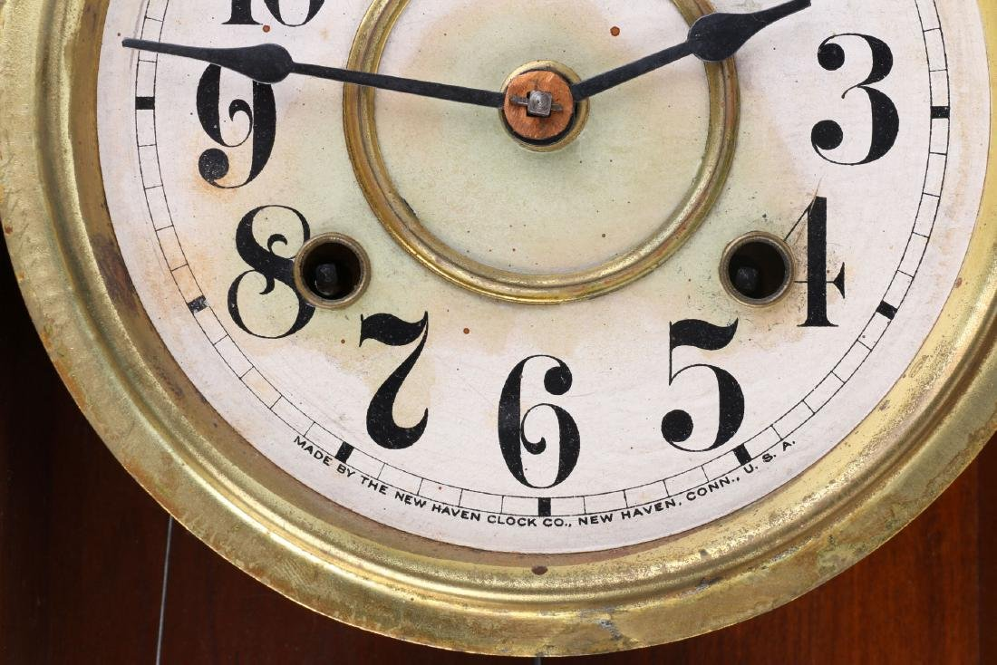 New Haven Hanging Gingerbread Wall Clock - 5