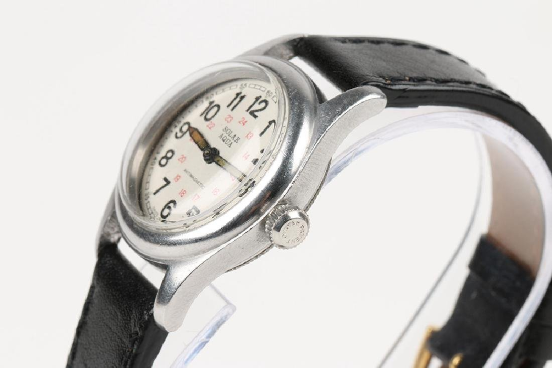 "WWII-Era Rolex Oyster ""Solar Aqua"" Wristwatch - 2"