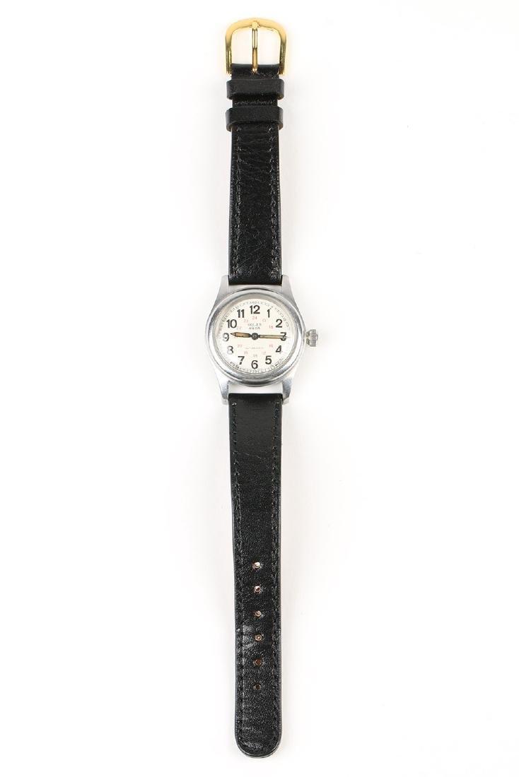 "WWII-Era Rolex Oyster ""Solar Aqua"" Wristwatch - 5"