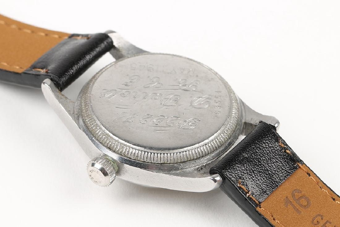 "WWII-Era Rolex Oyster ""Solar Aqua"" Wristwatch - 7"
