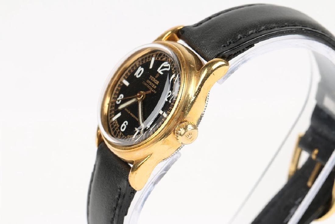 "WWII-Era Rolex Tudor Oyster ""Centregraph"" Wristwatch - 2"