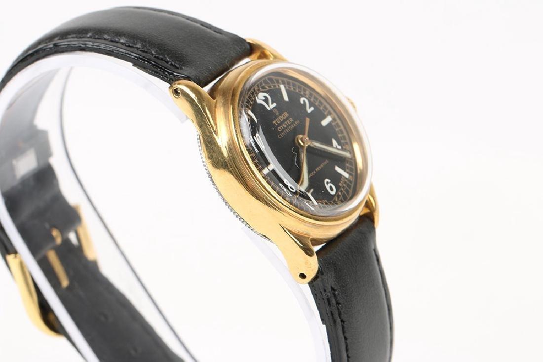 "WWII-Era Rolex Tudor Oyster ""Centregraph"" Wristwatch - 3"