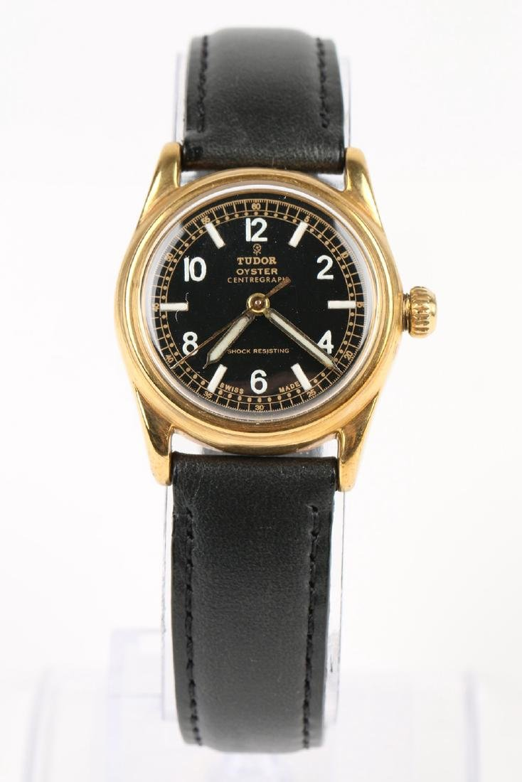 "WWII-Era Rolex Tudor Oyster ""Centregraph"" Wristwatch - 4"