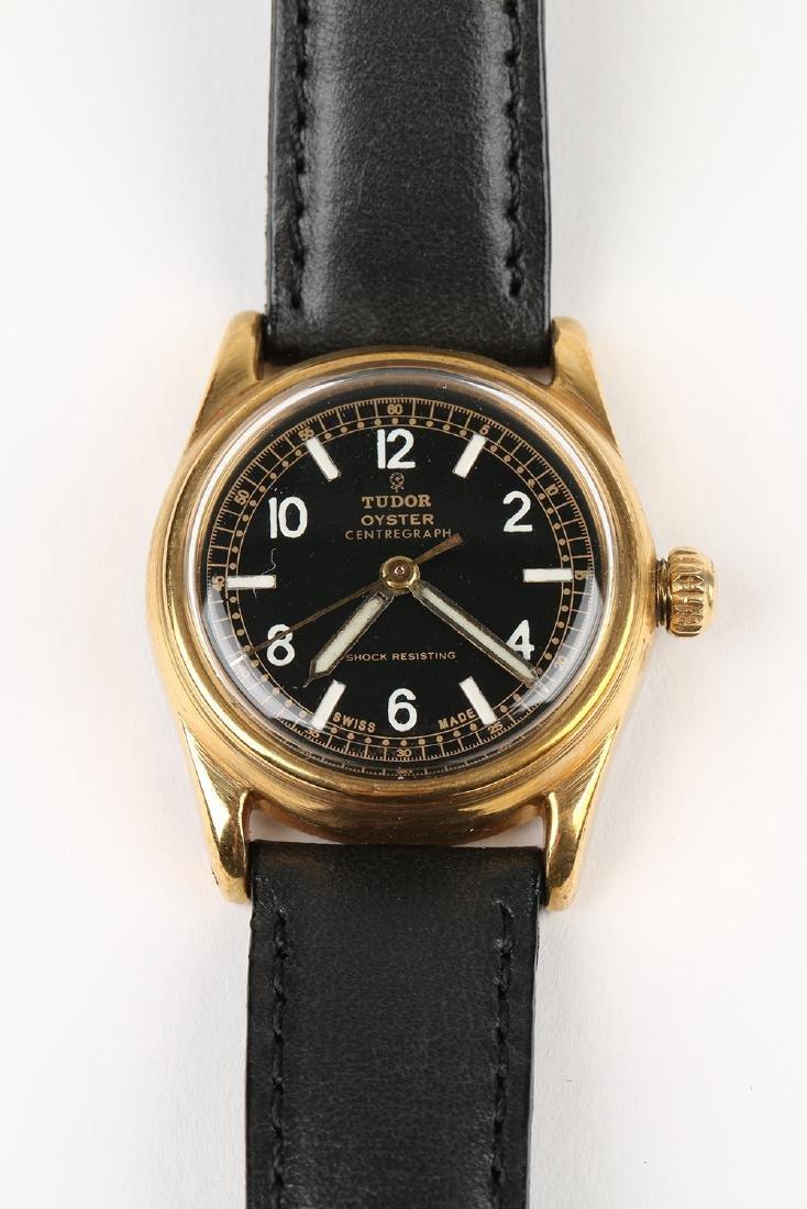 "WWII-Era Rolex Tudor Oyster ""Centregraph"" Wristwatch - 6"