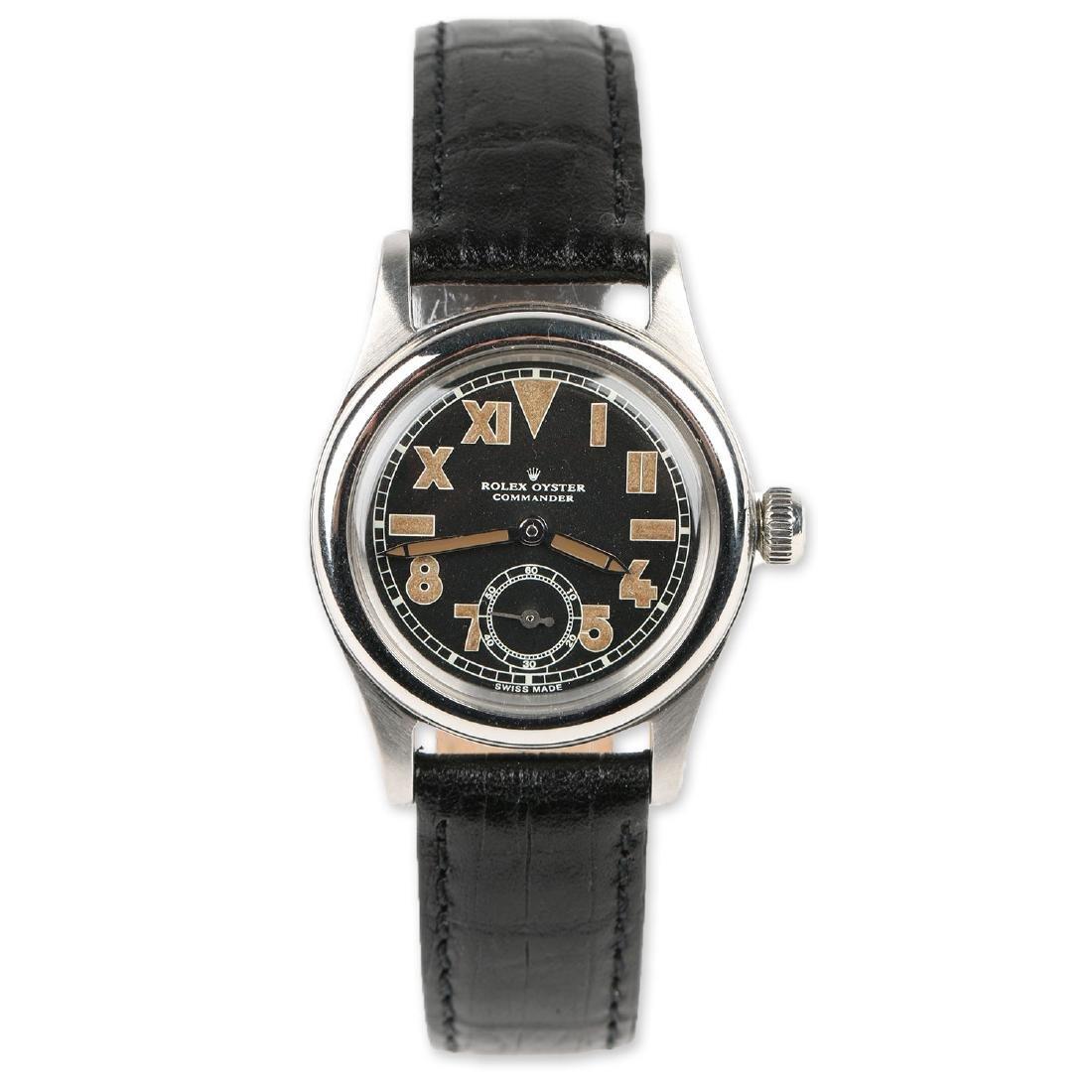 """WWII-Era Rolex Oyster """"Commander"""" Wristwatch"""