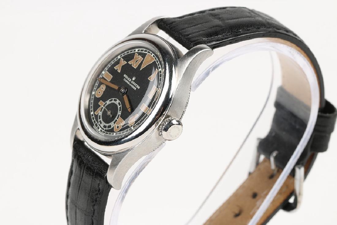 """WWII-Era Rolex Oyster """"Commander"""" Wristwatch - 2"""