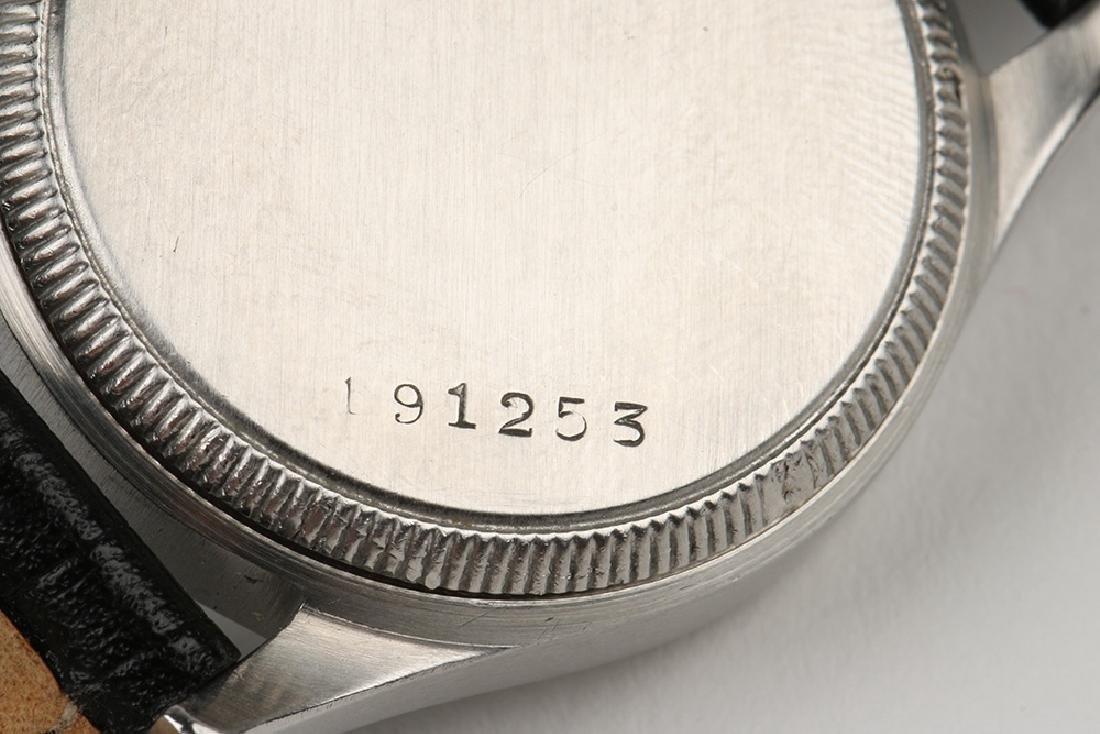 """WWII-Era Rolex Oyster """"Commander"""" Wristwatch - 8"""