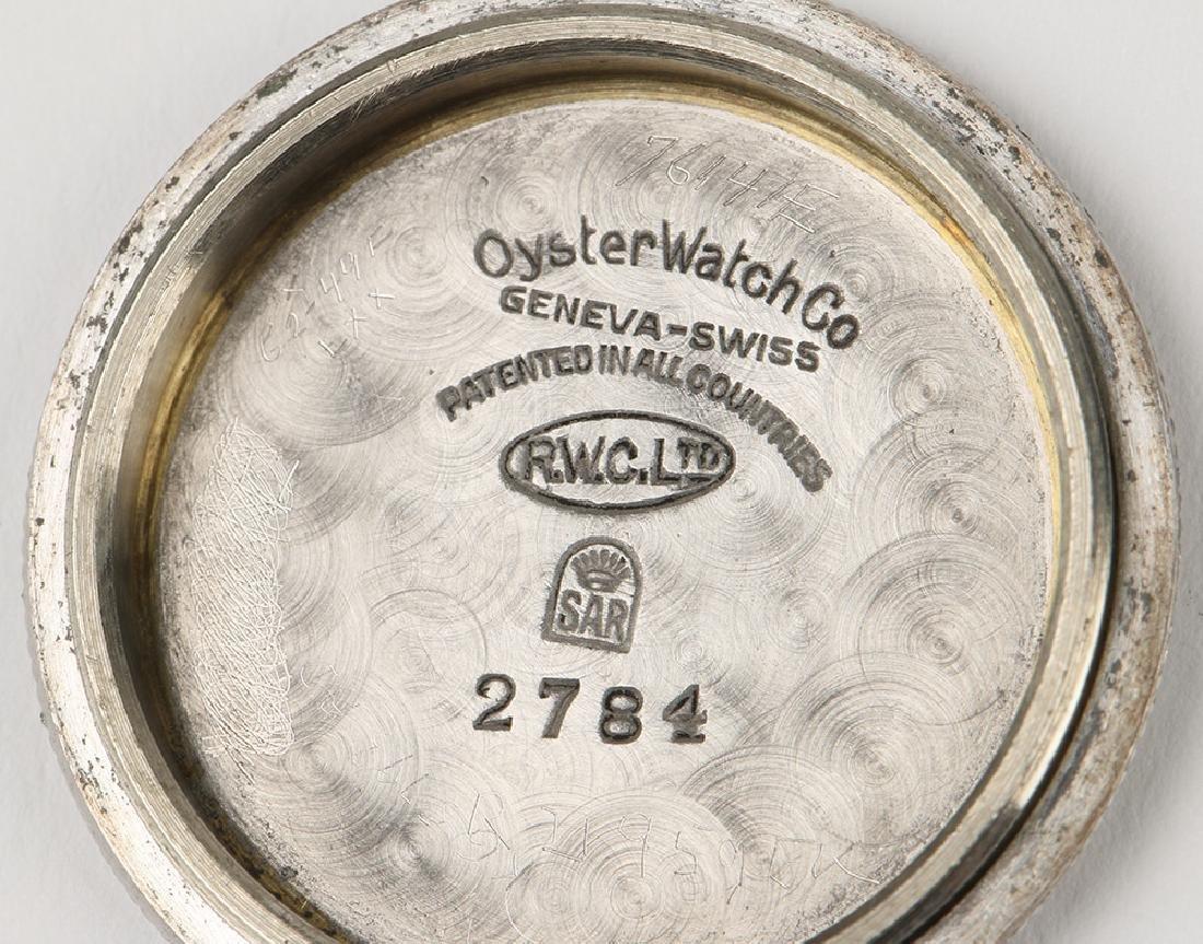 """WWII-Era Rolex Oyster """"Commander"""" Wristwatch - 9"""