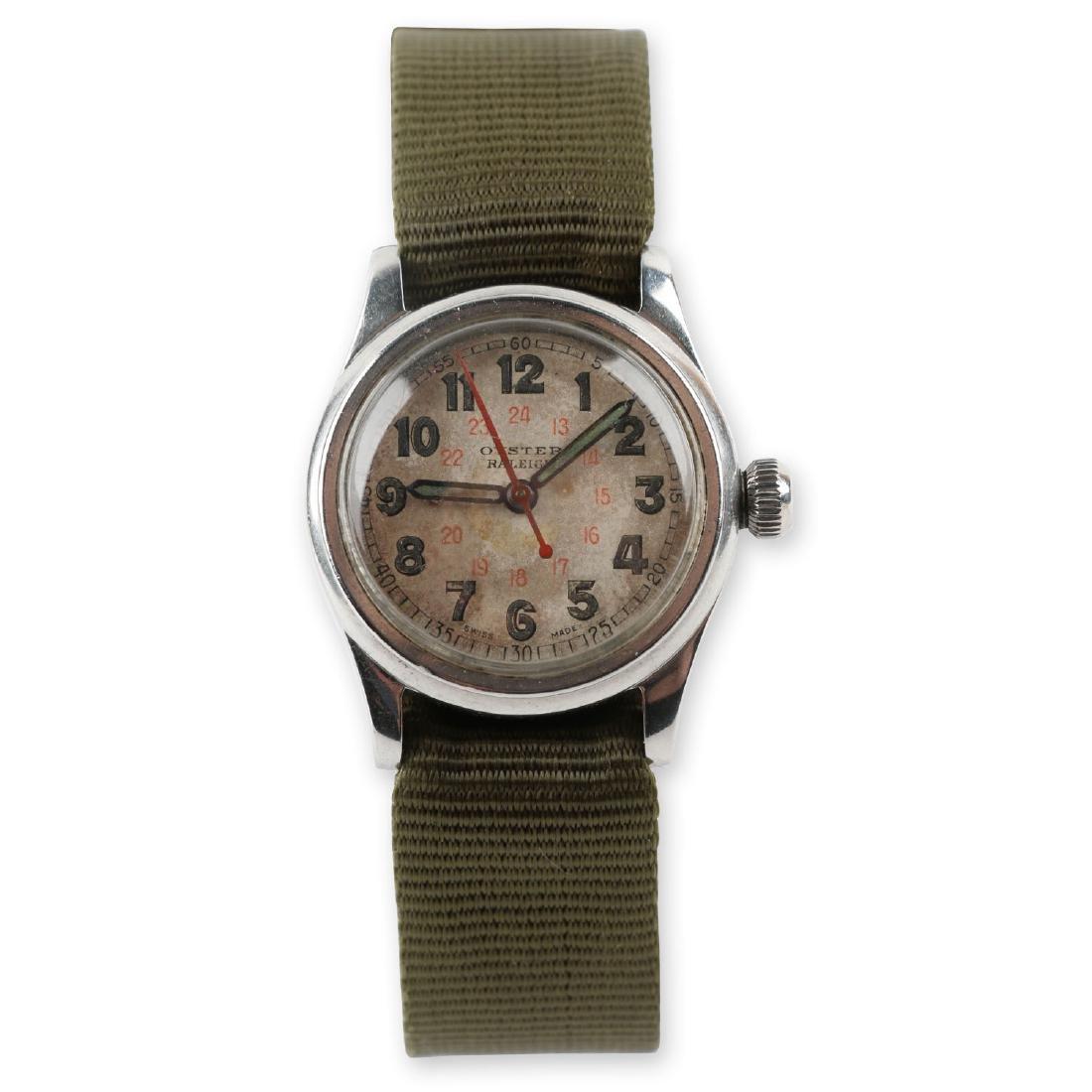 """WWII-Era Rolex Oyster """"Raleigh"""" Wristwatch"""