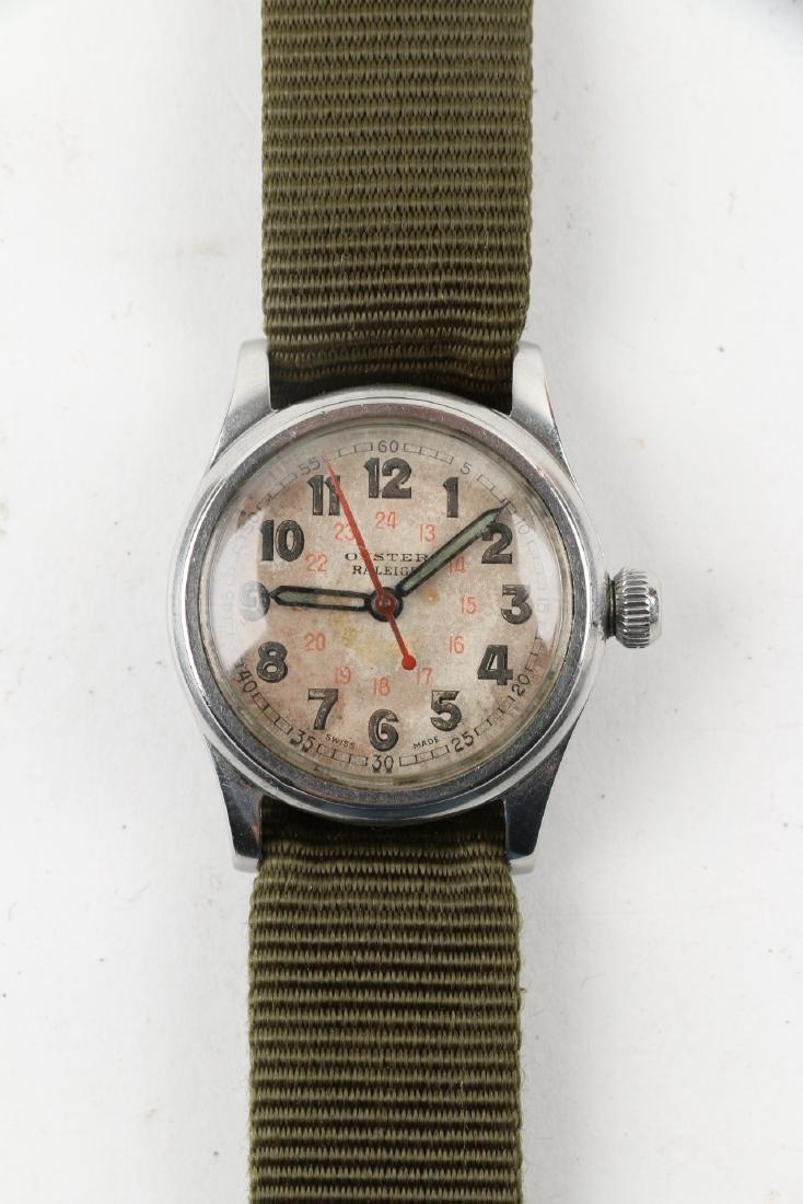 """WWII-Era Rolex Oyster """"Raleigh"""" Wristwatch - 4"""