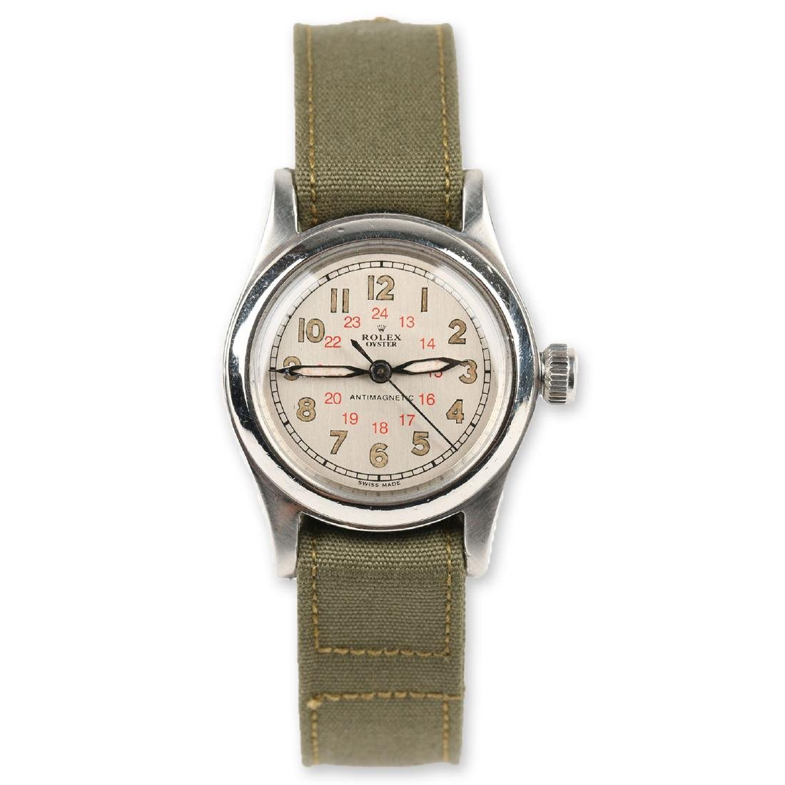 "WWII-Era Rolex Oyster ""Antimagnetic"" Wristwatch"