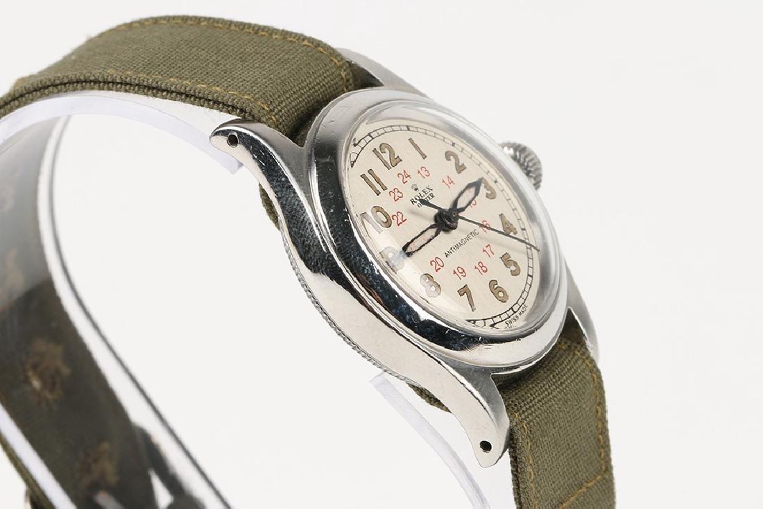 "WWII-Era Rolex Oyster ""Antimagnetic"" Wristwatch - 3"
