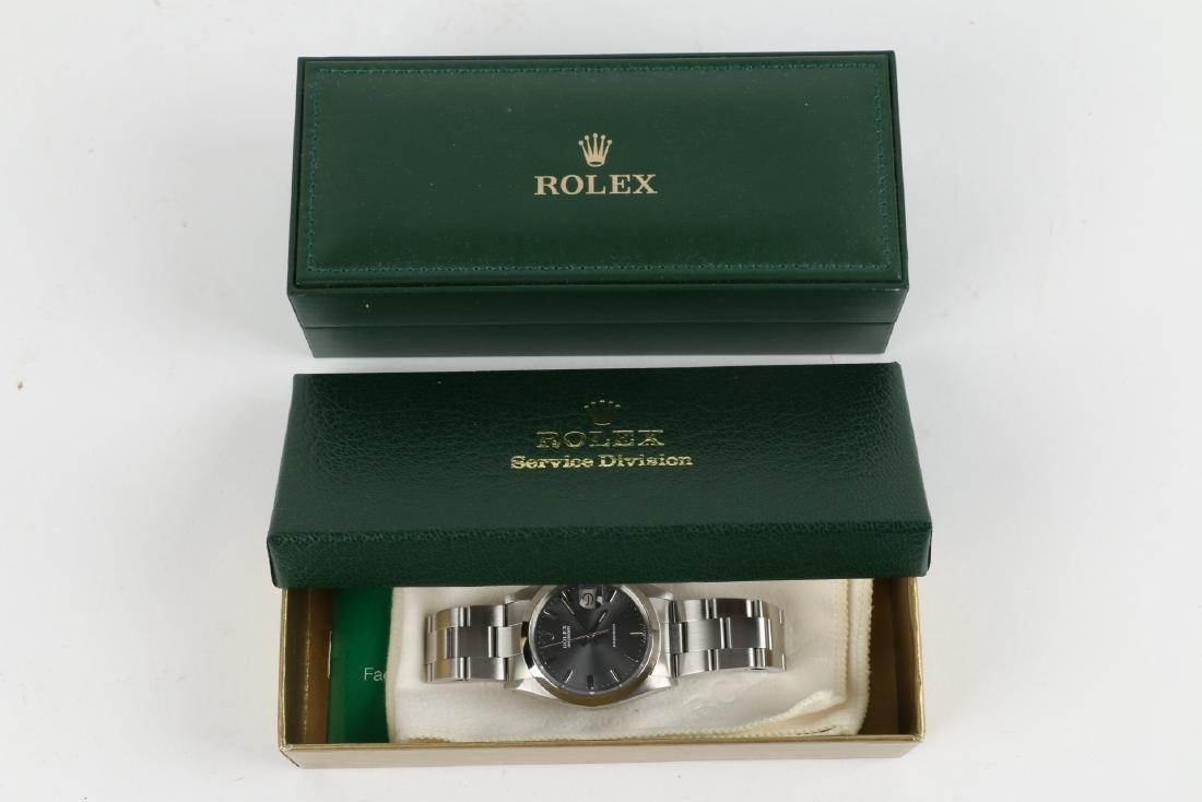"""Stainless Steel Rolex Precision 'Oysterdate"""" Wristwatch - 2"""