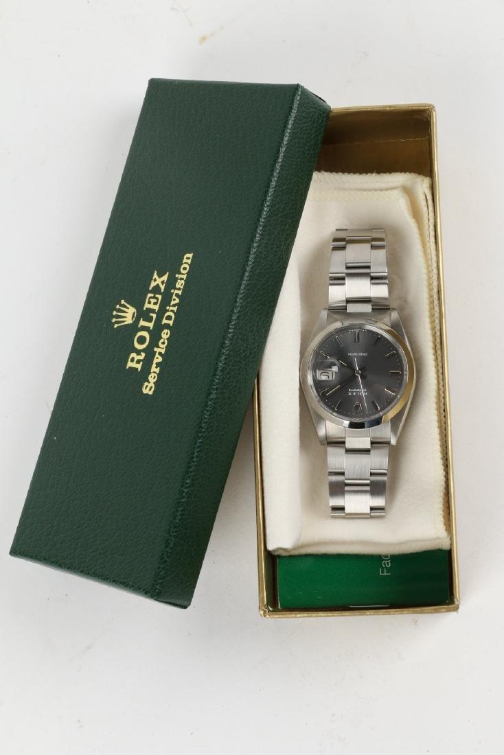 """Stainless Steel Rolex Precision 'Oysterdate"""" Wristwatch - 5"""