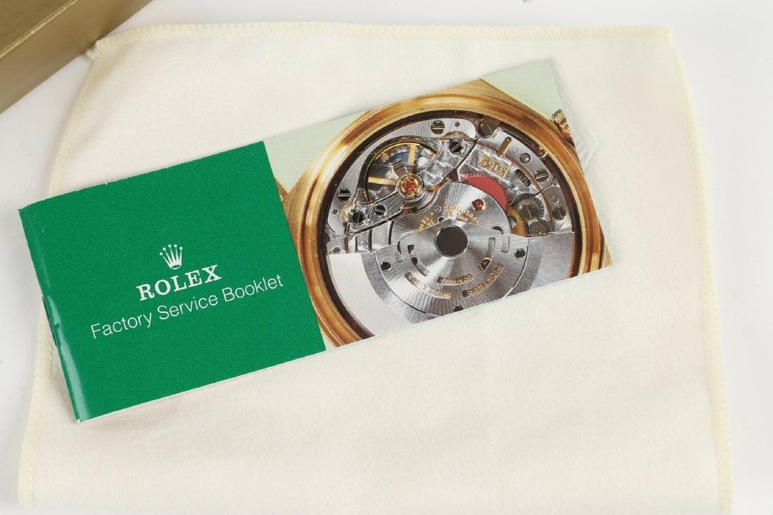 """Stainless Steel Rolex Precision 'Oysterdate"""" Wristwatch - 6"""