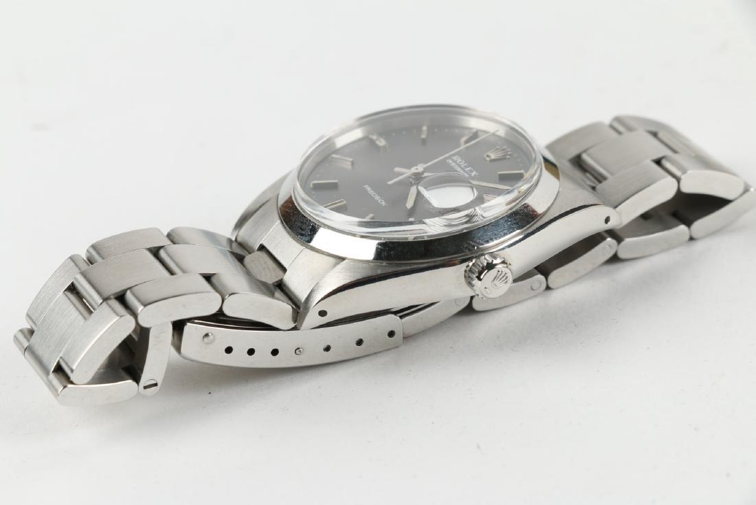 """Stainless Steel Rolex Precision 'Oysterdate"""" Wristwatch - 8"""