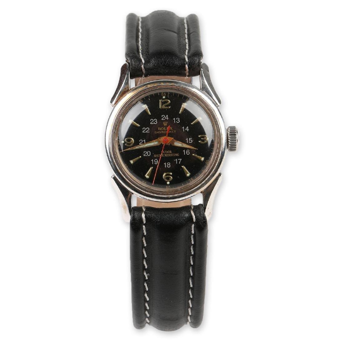 """WWII-Era Rolex """"Sky Rocket"""" Wristwatch"""
