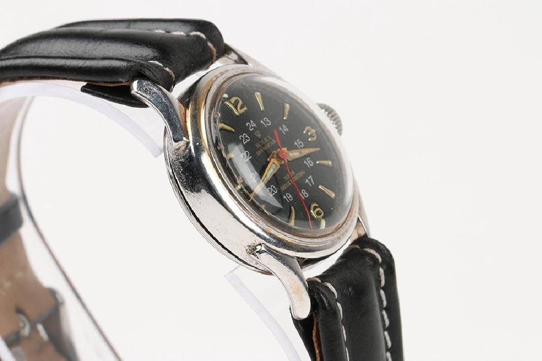 """WWII-Era Rolex """"Sky Rocket"""" Wristwatch - 3"""