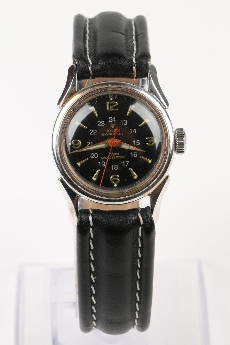 """WWII-Era Rolex """"Sky Rocket"""" Wristwatch - 4"""
