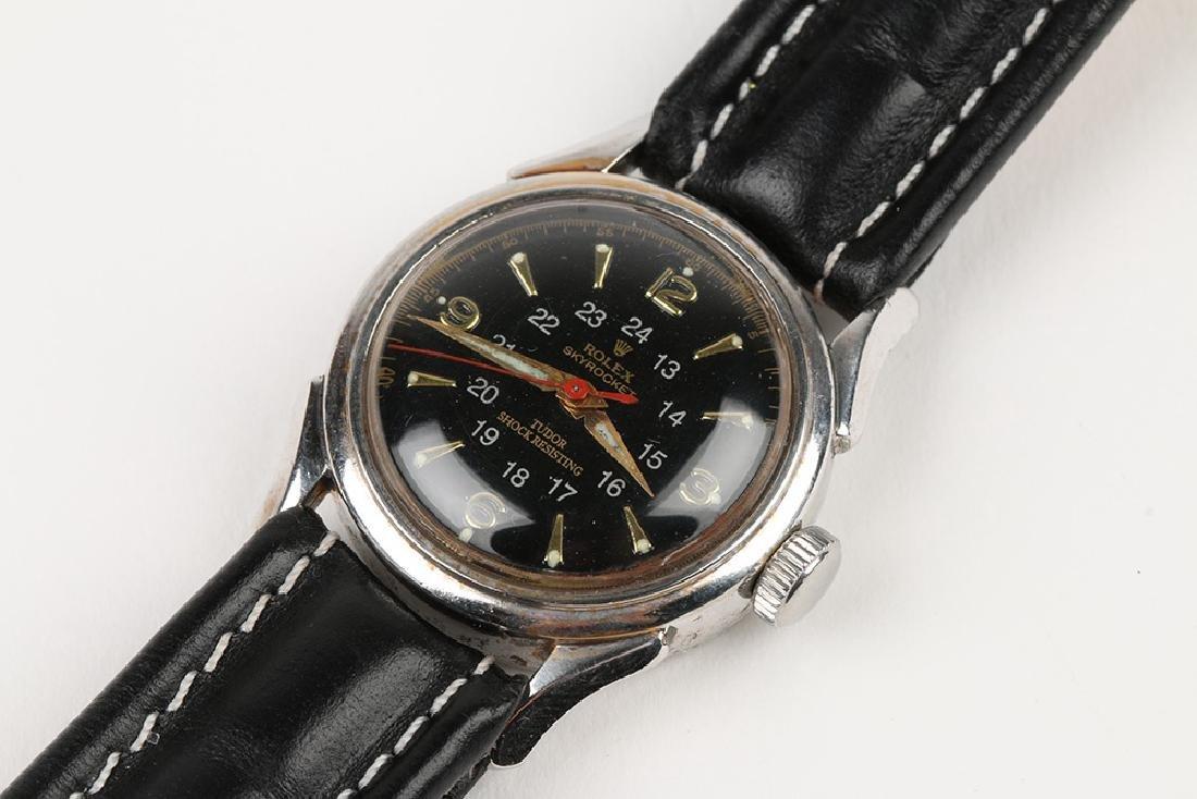 """WWII-Era Rolex """"Sky Rocket"""" Wristwatch - 6"""