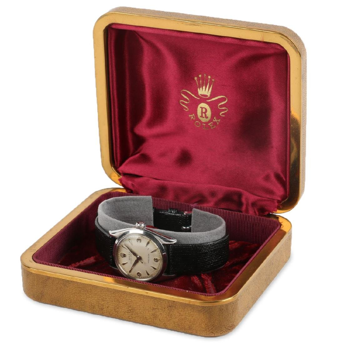 """Boxed Rolex Oyster Precision """"Speedking"""" Wristwatch"""