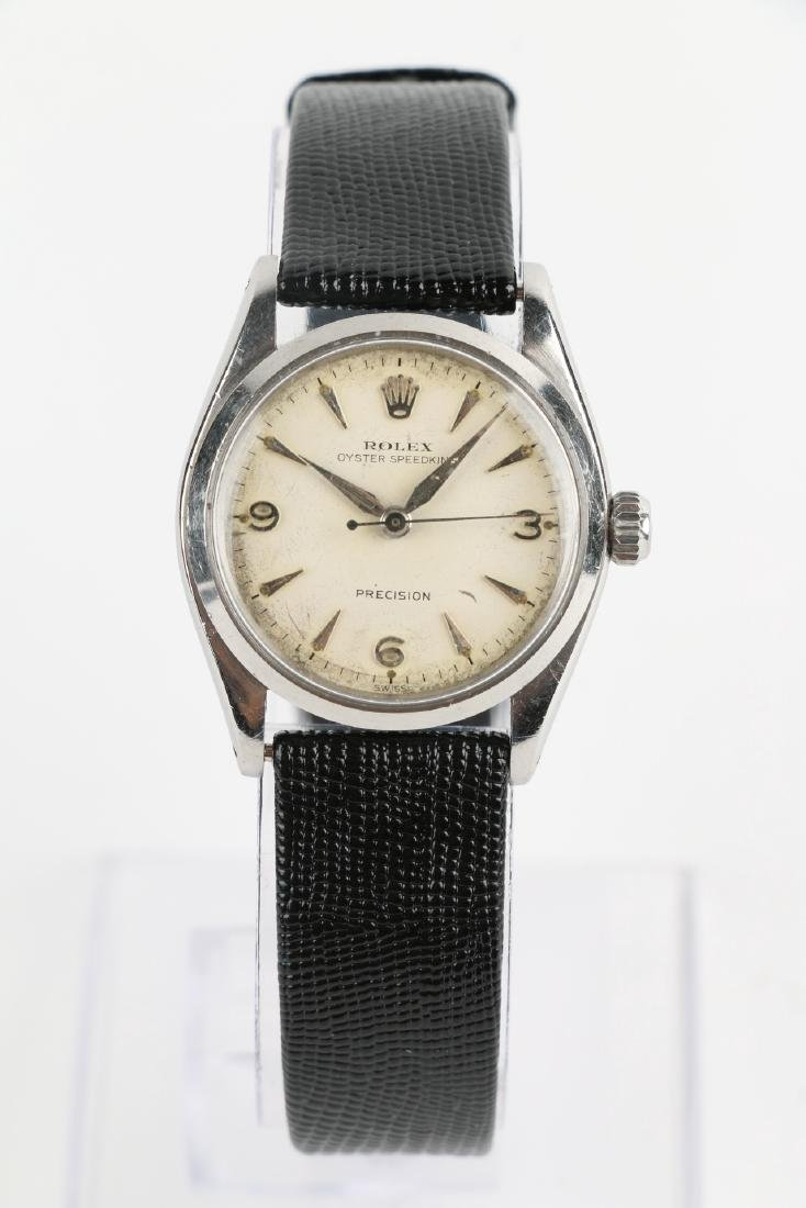 """Boxed Rolex Oyster Precision """"Speedking"""" Wristwatch - 2"""