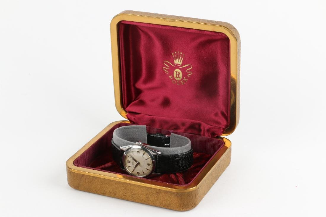 """Boxed Rolex Oyster Precision """"Speedking"""" Wristwatch - 8"""