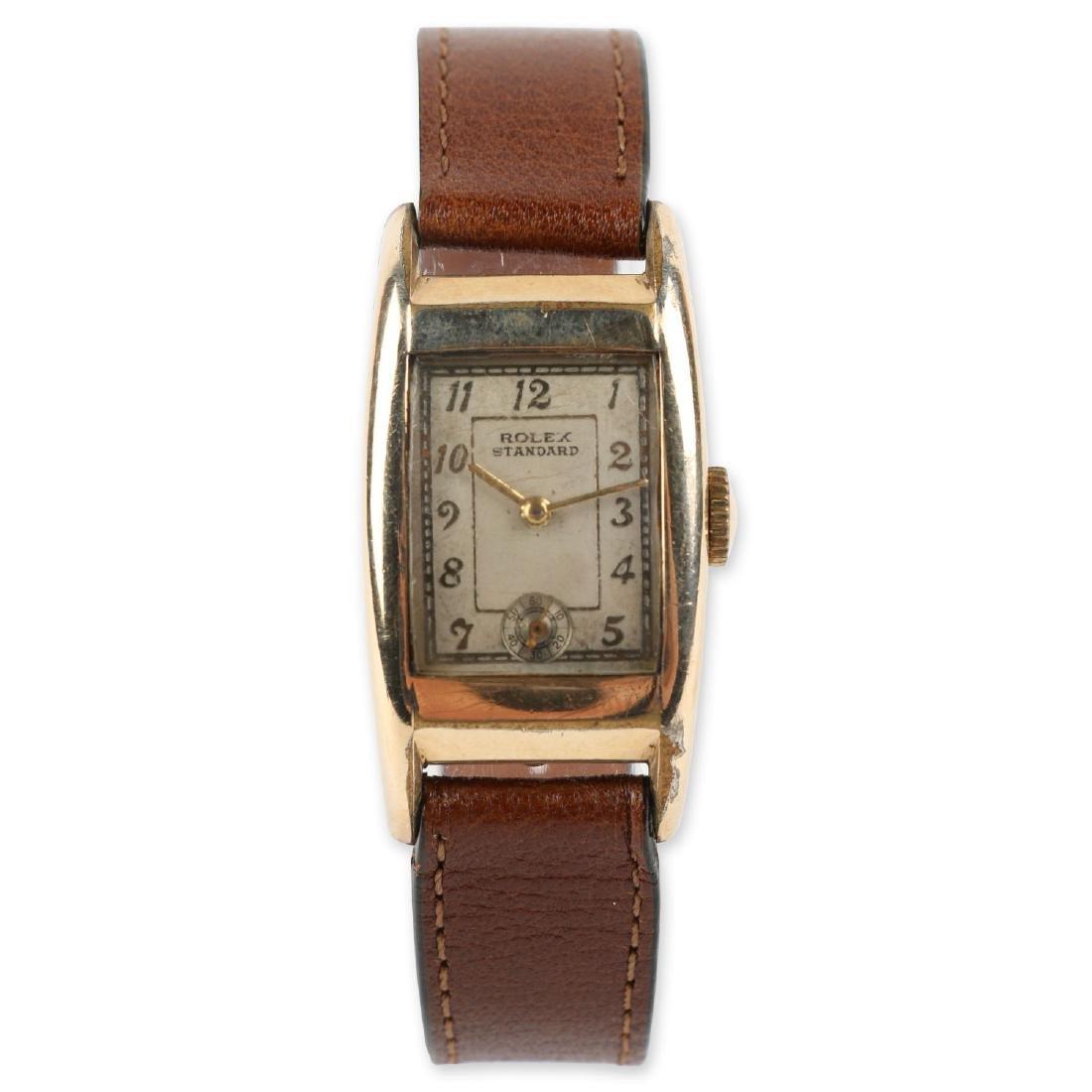 """Rolex """"Standard"""" Rectangular Dress Watch"""