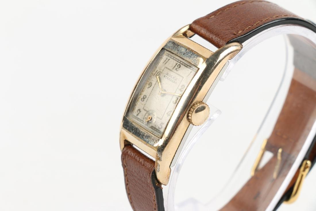"""Rolex """"Standard"""" Rectangular Dress Watch - 2"""