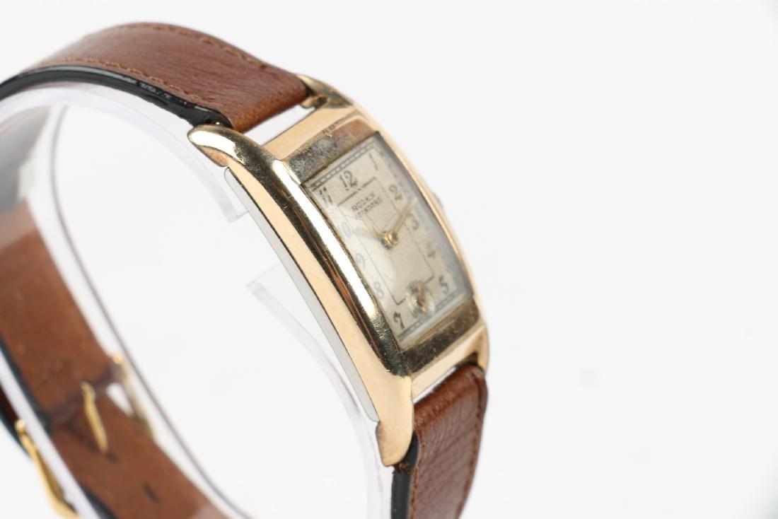 """Rolex """"Standard"""" Rectangular Dress Watch - 3"""