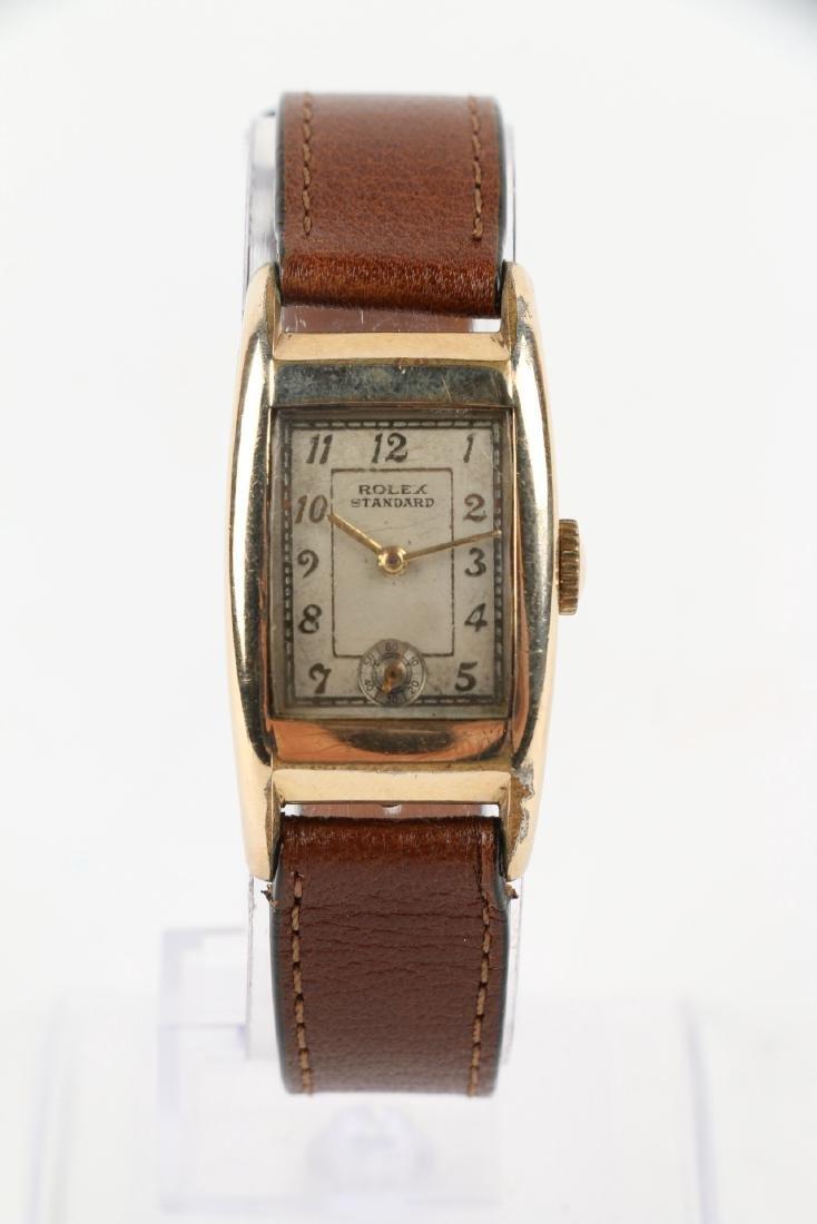 """Rolex """"Standard"""" Rectangular Dress Watch - 4"""