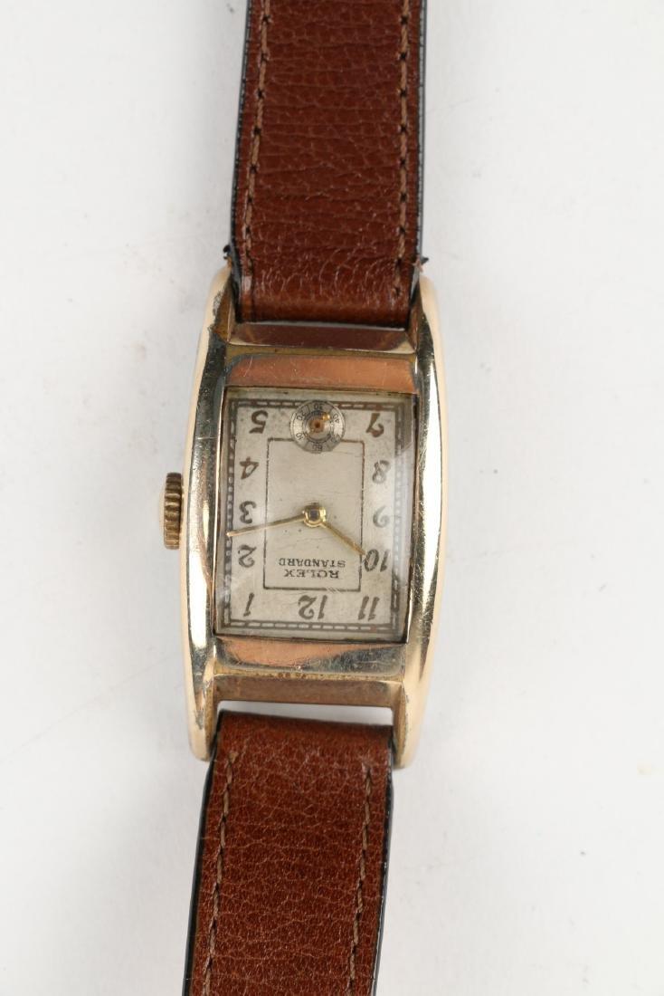 """Rolex """"Standard"""" Rectangular Dress Watch - 5"""