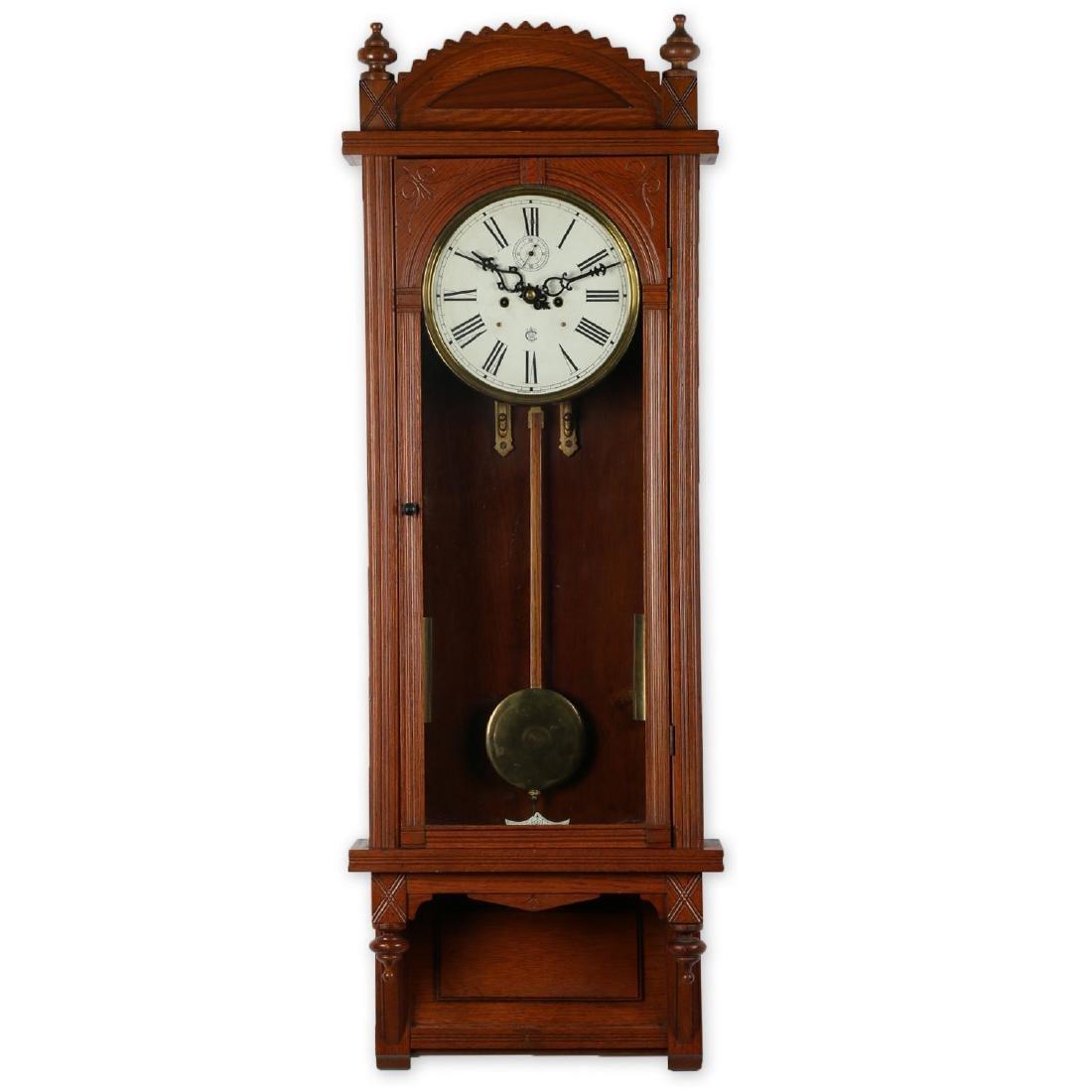 "C. 1910 Waterbury Clock Co. ""Regulator No. 3"" Office"