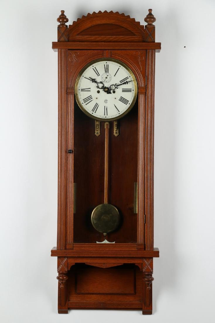 "C. 1910 Waterbury Clock Co. ""Regulator No. 3"" Office - 5"