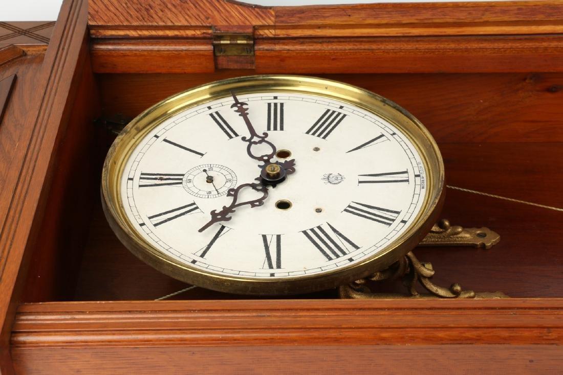 "C. 1910 Waterbury Clock Co. ""Regulator No. 3"" Office - 7"
