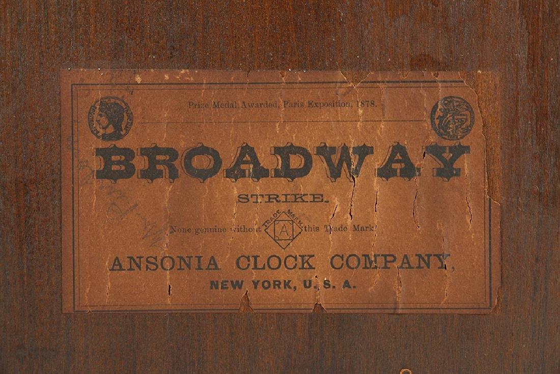 "Ansonia (New York) ""Broadway"" Mantel Clock - 7"