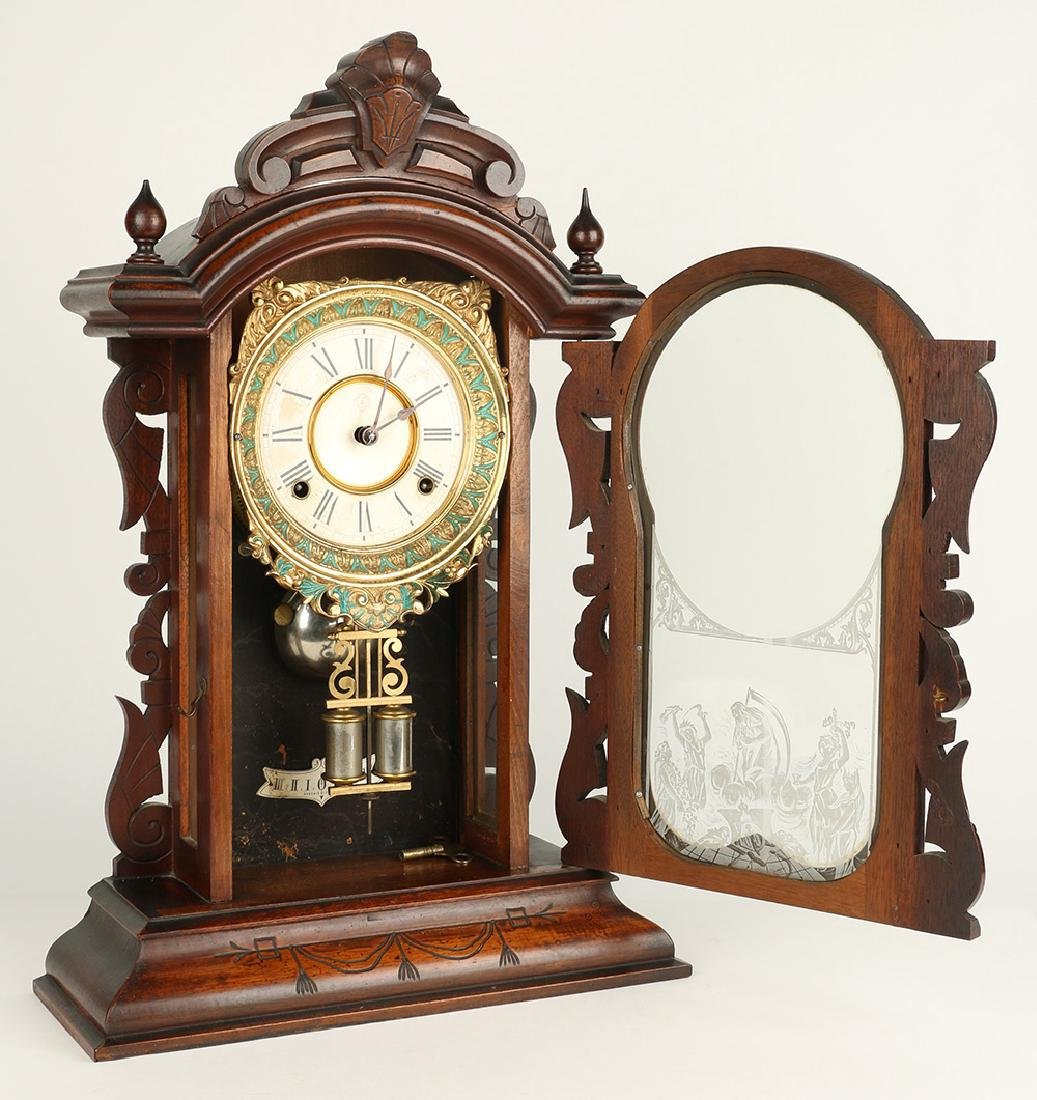 "Ansonia (New York) ""Broadway"" Mantel Clock - 8"