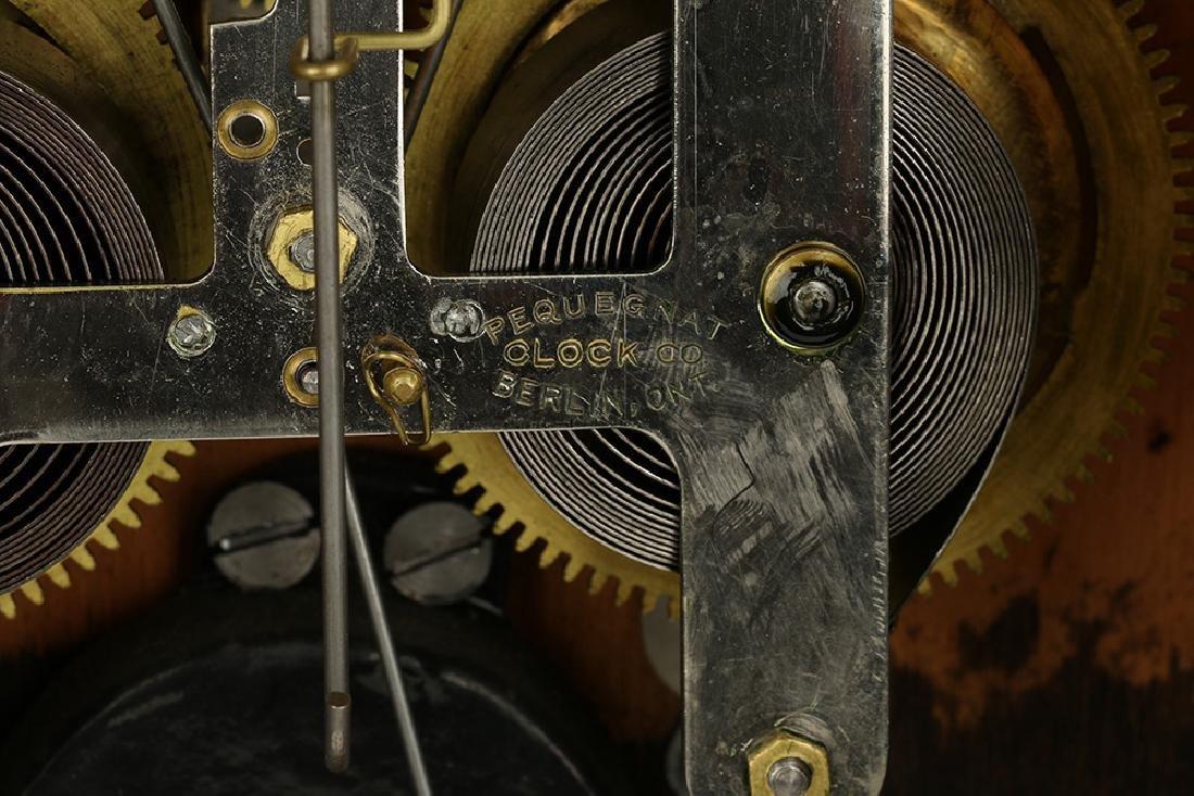 """Pequegnat """"Citadel"""" Mantel Clock - 10"""