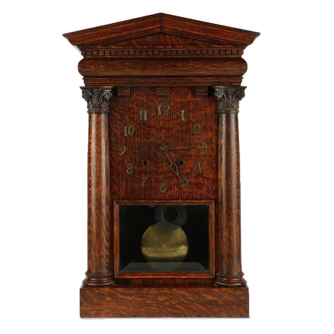 """Pequegnat """"Citadel"""" Mantel Clock"""