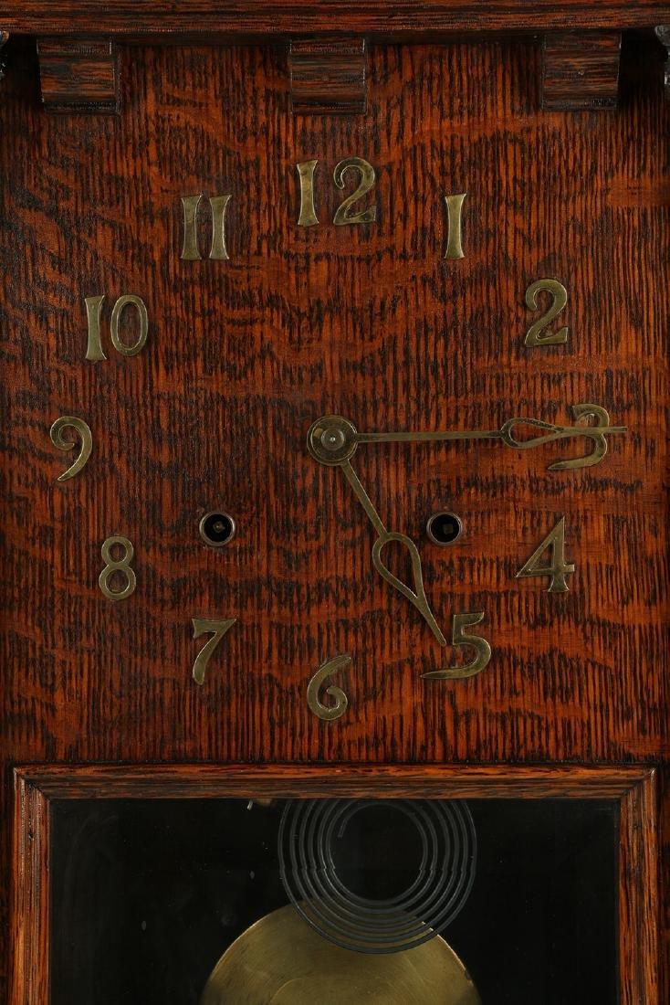 """Pequegnat """"Citadel"""" Mantel Clock - 4"""