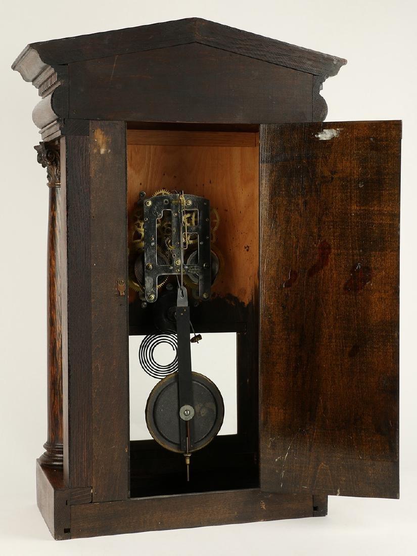 """Pequegnat """"Citadel"""" Mantel Clock - 9"""