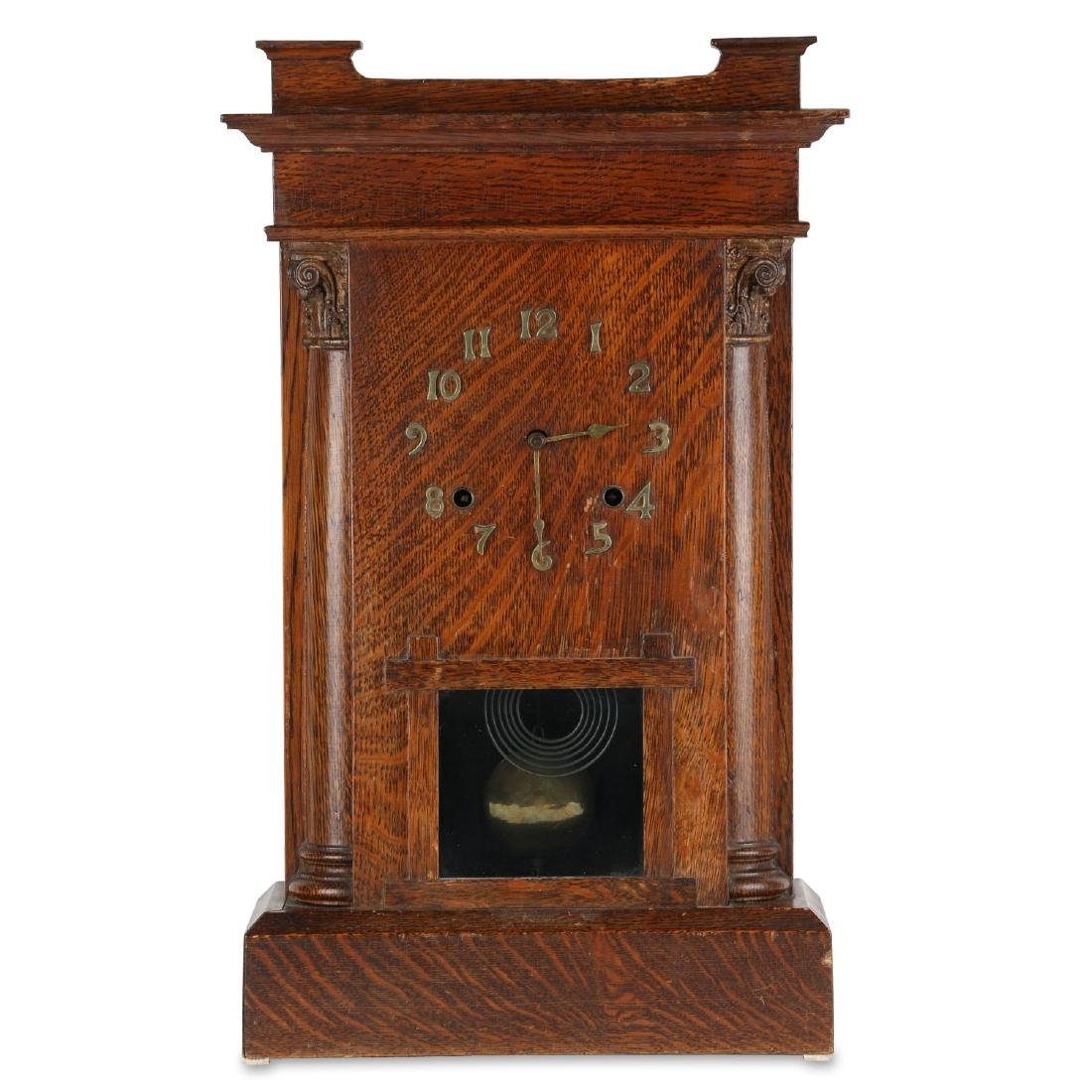 "Pequegnat ""St. Thomas"" Mantel Clock"