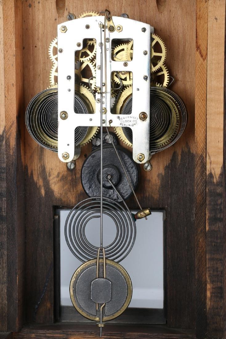 "Pequegnat ""St. Thomas"" Mantel Clock - 8"