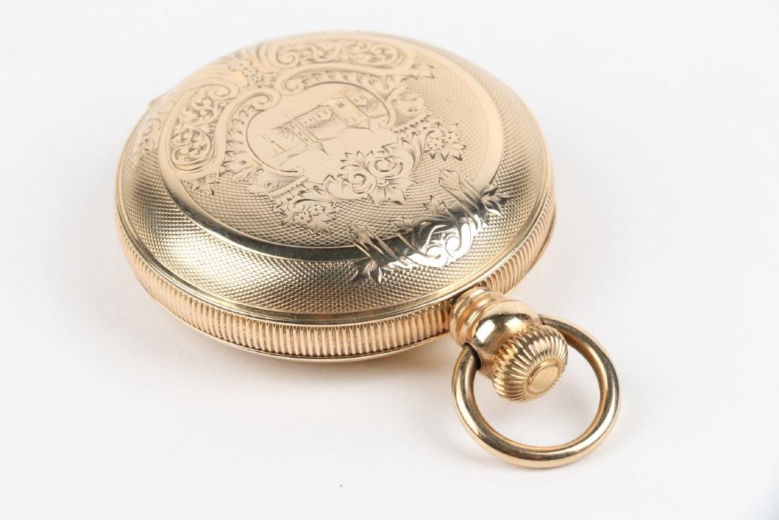 18S 11J Elgin Nat'l Key-Wind Full Hunter Pocket Watch - 2