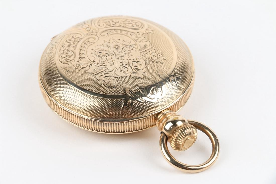 18S 11J Elgin Nat'l Key-Wind Full Hunter Pocket Watch - 4